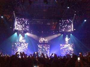 Show em Estocolmo 24/10/09